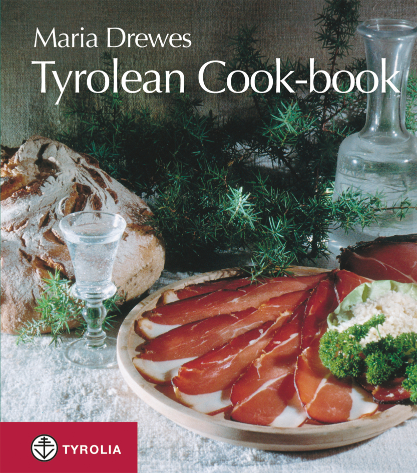 Cover Tyrolean cook-book