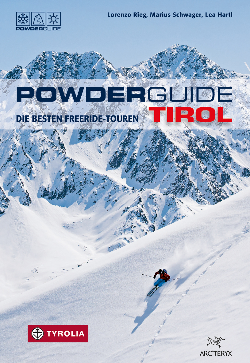 Cover PowderGuide Tirol