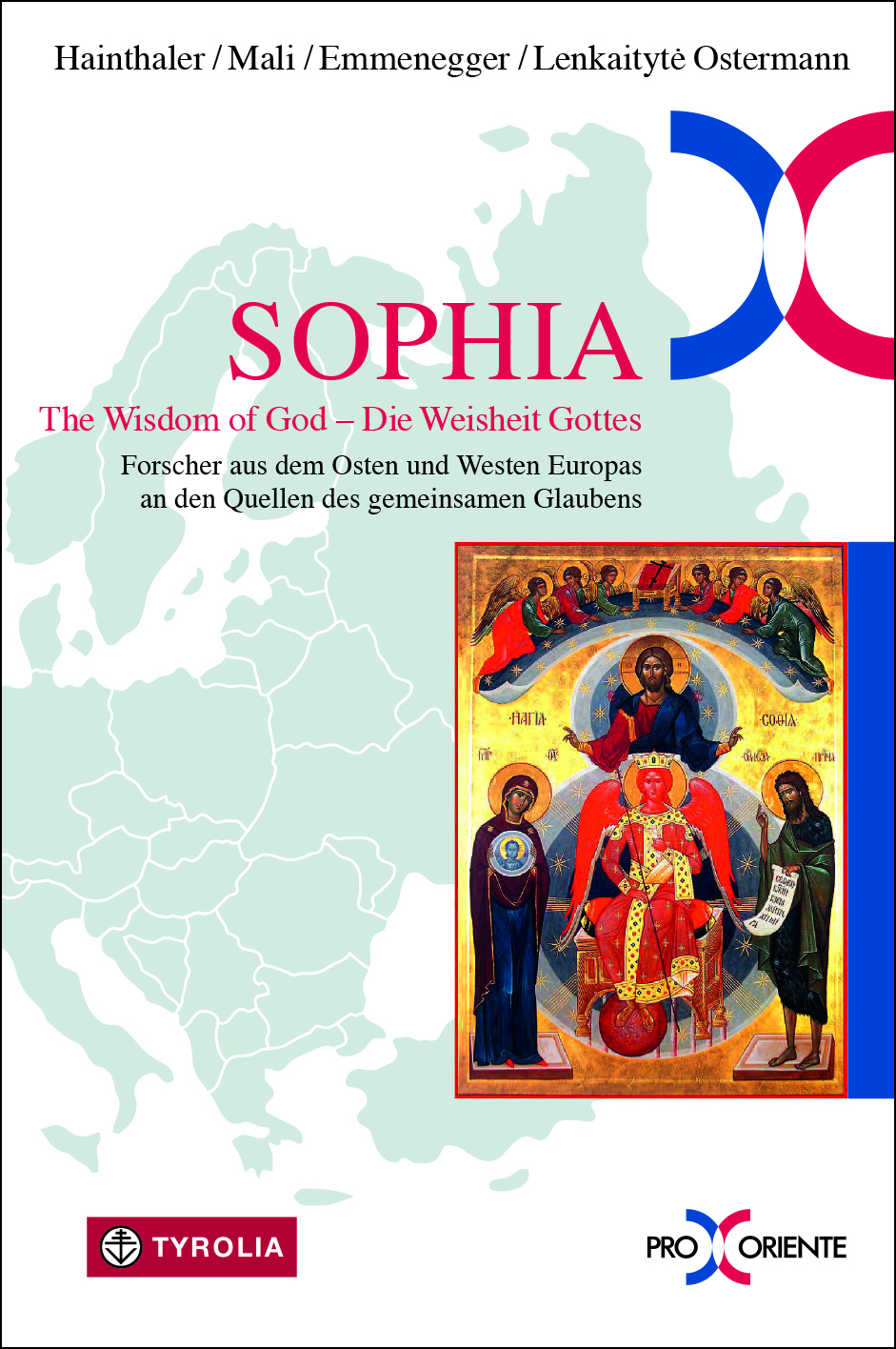 Cover Sophia. The Wisdom of God - die Weisheit Gottes.