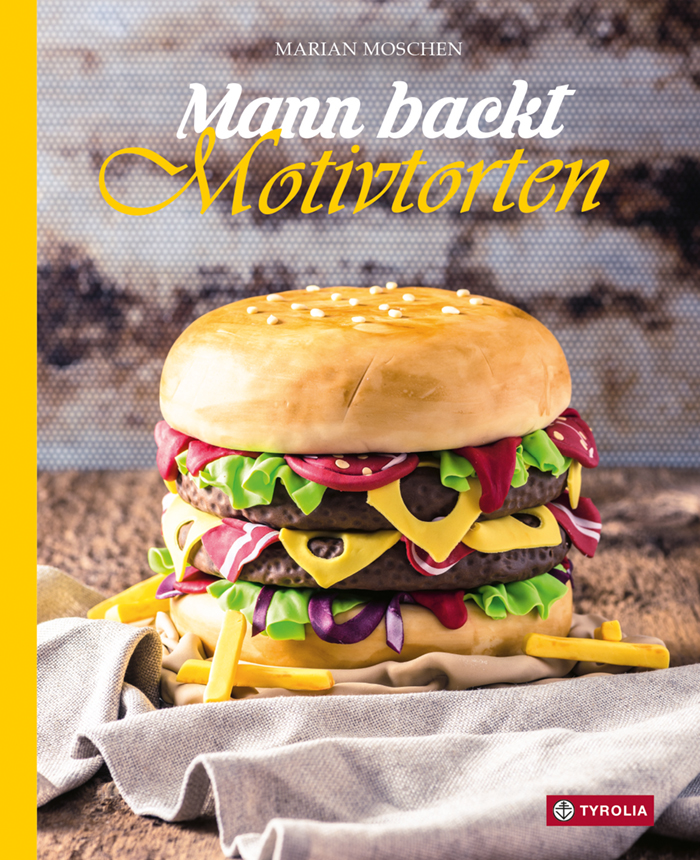 Cover Mann backt Motivtorten