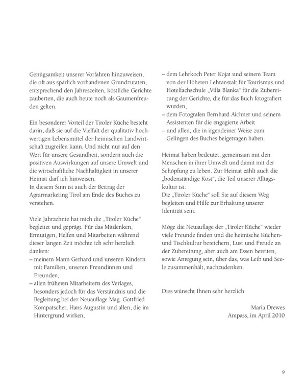 Tiroler Kuche Maria Drewes Online Bestellen Tyrolia Verlag