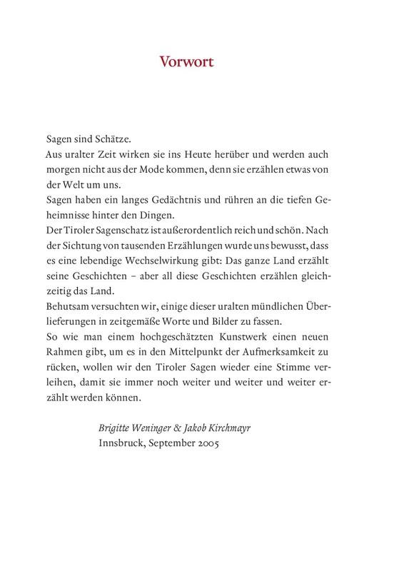 Tiroler Zwergenkönig Der Sage