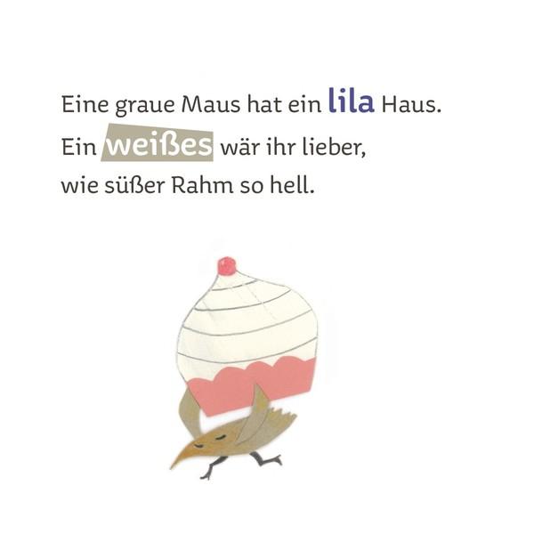 Eine graue Maus hat ein lila Haus - Elisabeth Schawerda - online ...